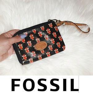 FOSSIL | Owl Wristlet